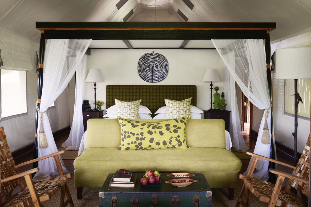 Luxury Room, Belmond Khwai River Lodge, Botswana Rundreise