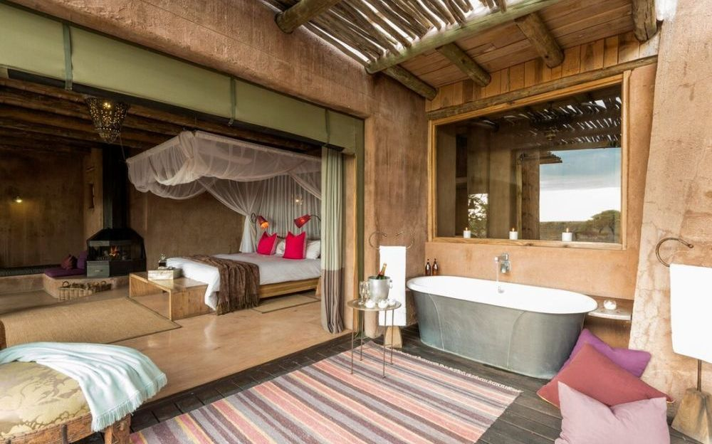 Privatreise Namibia, Bush Suite Ausstattung Onguma The Fort