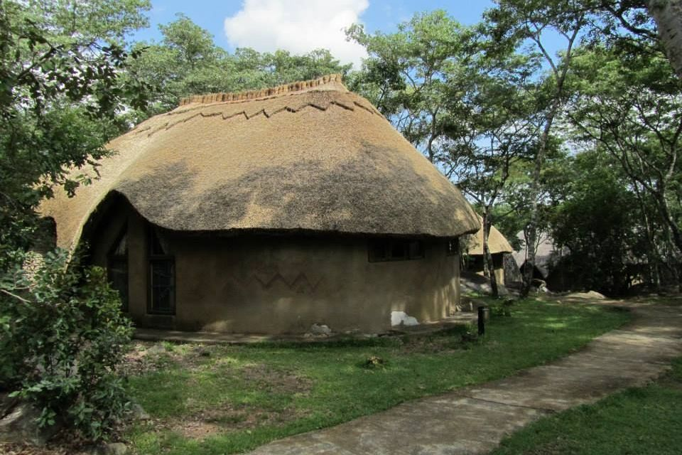 Hütte, Lodge at the Ancient City, Simbabwe Rundreise