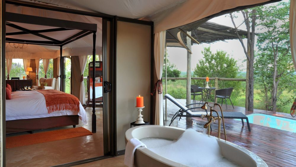 Suite, The Elephant Camp, Simbabwe Rundreise