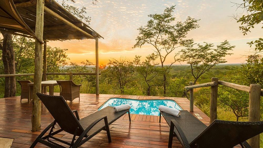 Suite, The Elephant Camp, Simbabwe Reise, Luxusreise Simbabwe