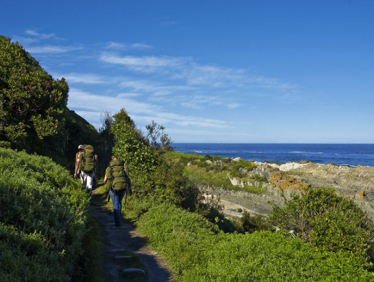 Tsitsikamma Nationalpark, Wanderung, Storms River Mouth Rest Camp