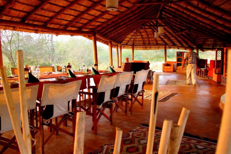 Restaurant, Little Oliver's Camp, Tarangire Nationalpark, Tansania Reise