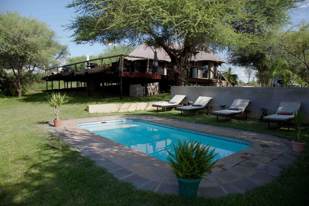 Pool, Taranga Safari Lodge, Rundu, Namibia Reisen