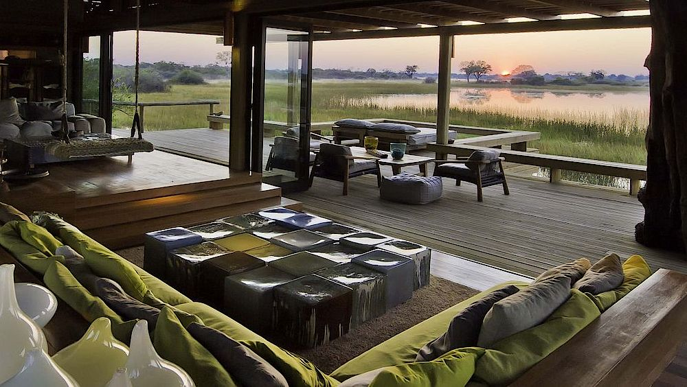 Okavango Delta, Lounge Vumbura Plains Camp, Botswana Rundreise