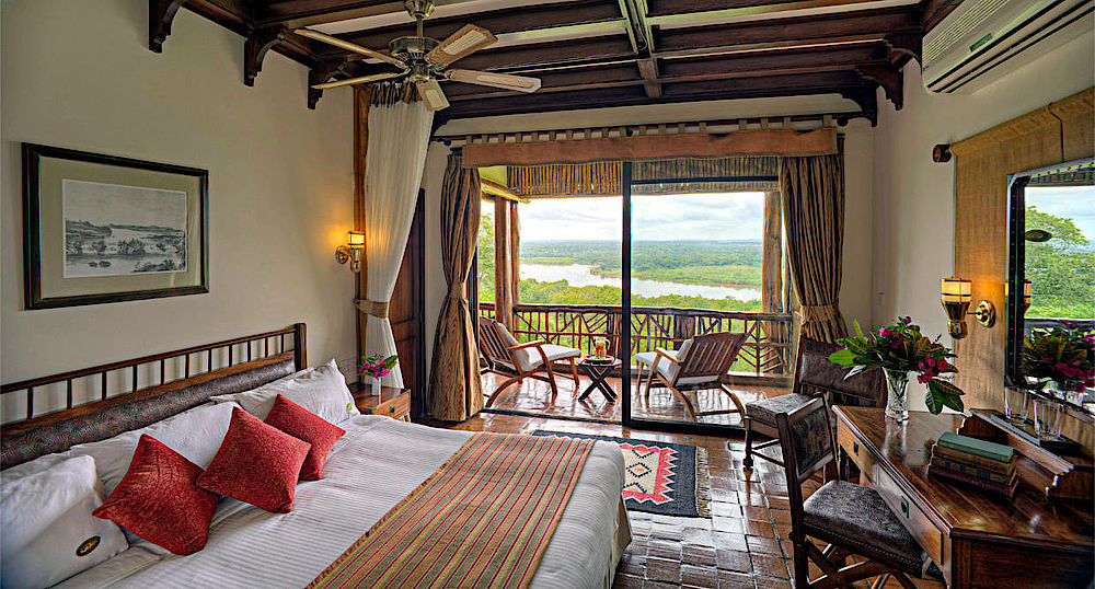 Privatreise Uganda, Schlafzimmer, Paraa Safari Lodge, Murchison Falls National Park, Uganda