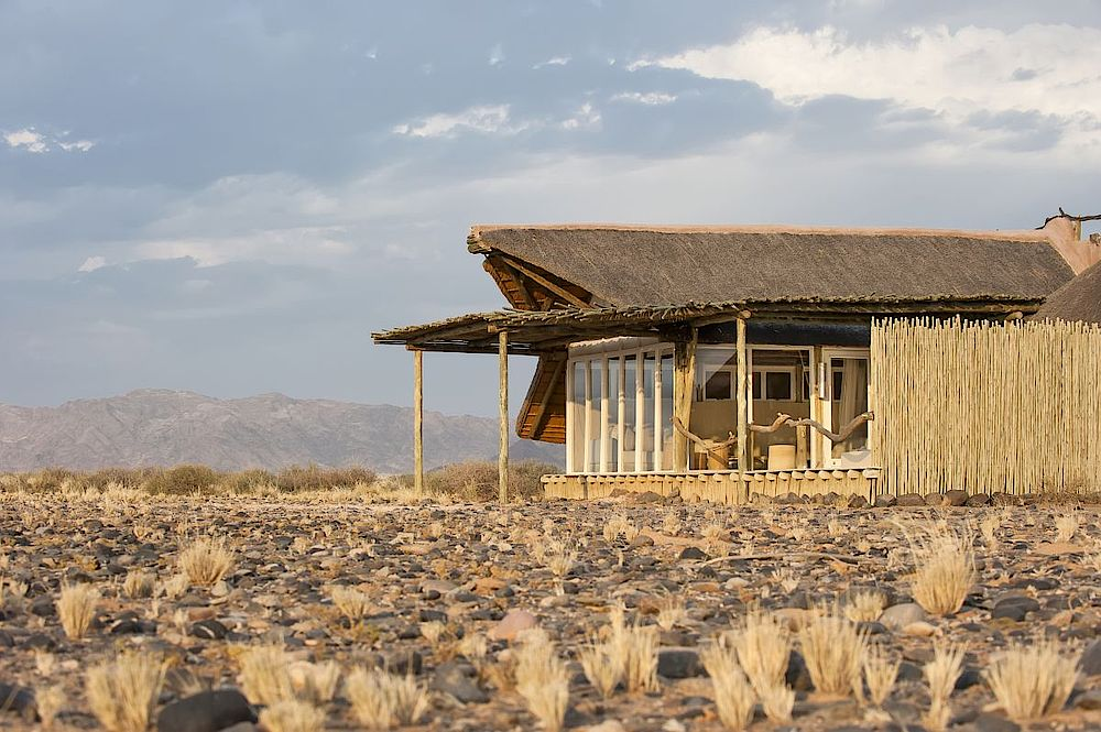Lage Little Kulala Lodge, Namibia Rundreise