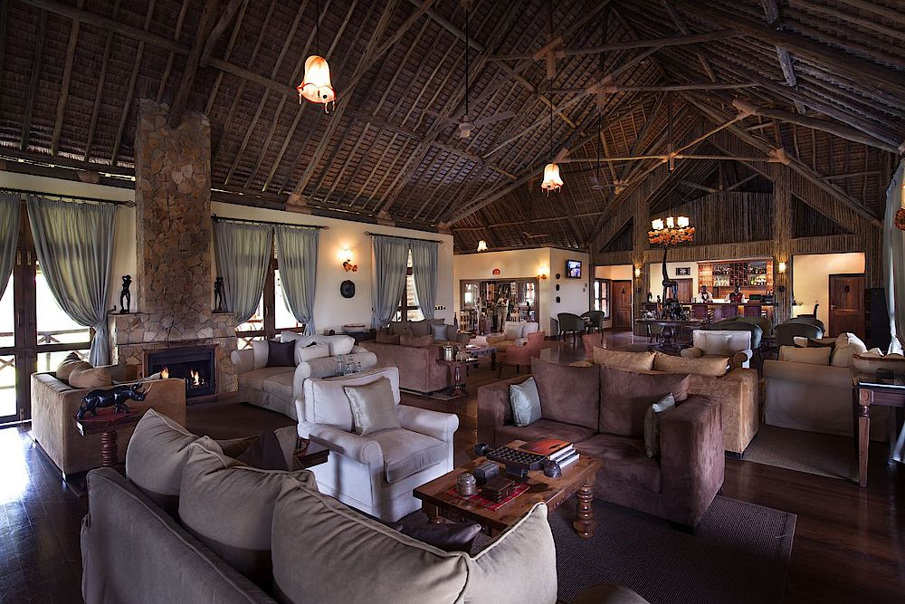 Privatreise Tansania, Speisesaal, Neptune Ngorongoro Luxury Lodge, Tansania Safari
