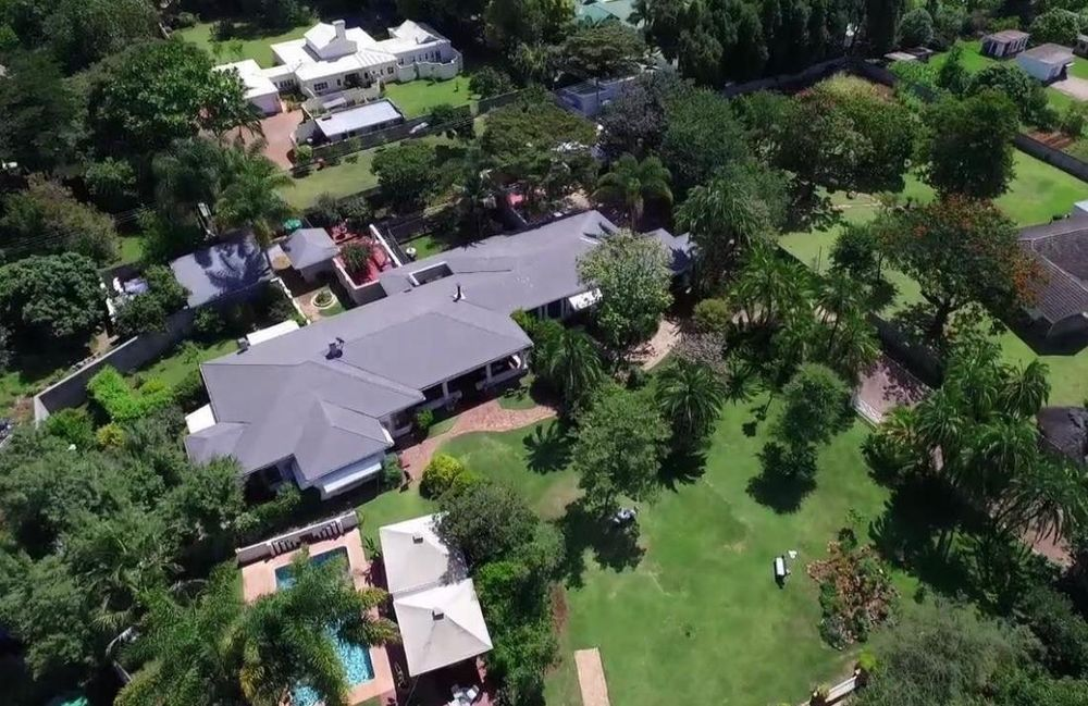 Aerial View, Armadale Lodge, Harare, Simbabwe Rundreise