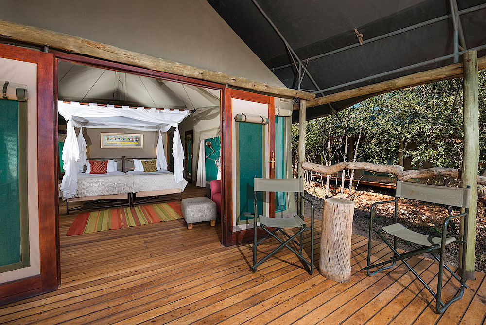 Rundreise Namibia, Ongava Tented Camp, Namibia Safari