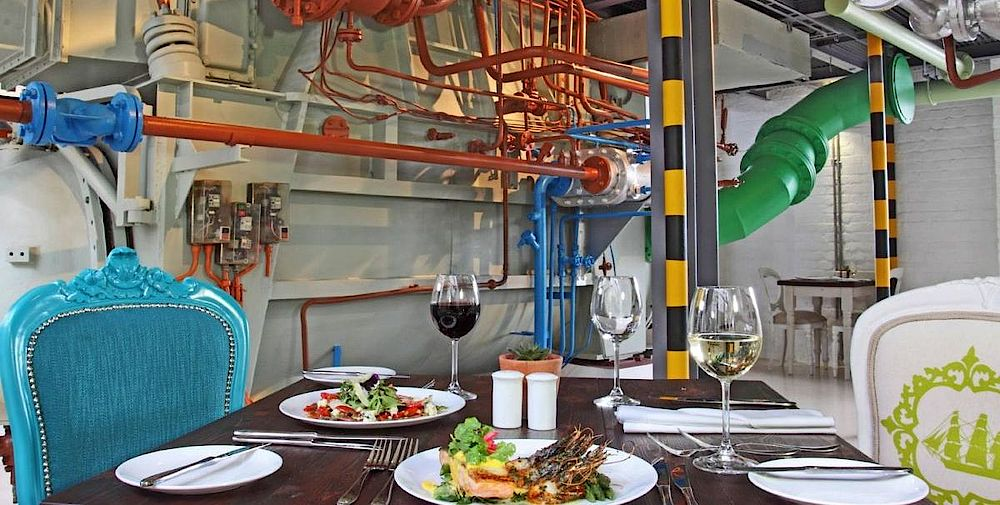 Privatreise Südafrika, Dinner, The Turbine Boutique Hotel & Spa, Knysna, Südafrika
