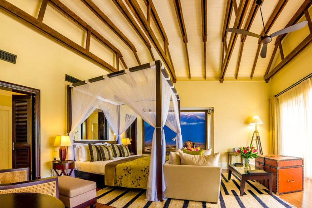 Rundreise Kenia, Luxus-Suite, Hemingways Hotel, Nairobi, Kenia Safari