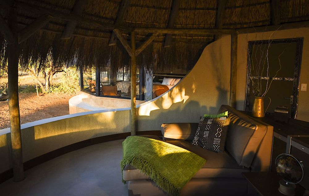 Ausblick Okonjima Luxury Bush Camp, Namibia Rundreise