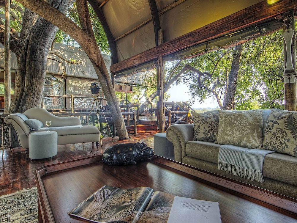 Lounge Camp Shinde, Botswana Rundreise