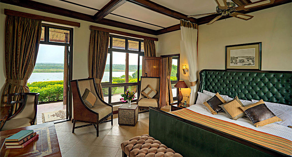 Luxusreise Uganda, Luxus-Suite, Paraa Safari Lodge, Murchison Falls National Park, Uganda