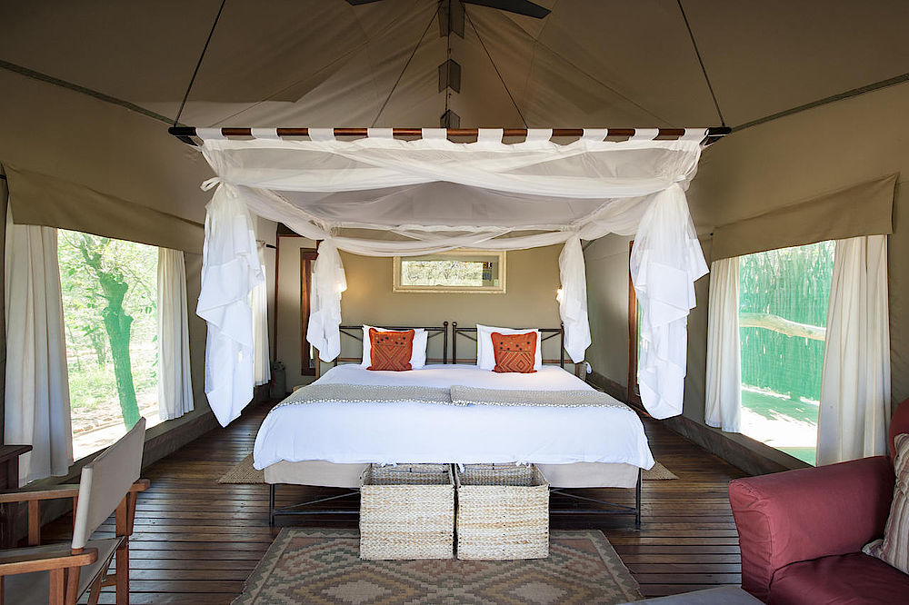 Luxusreise Namibia, Luxury Suite Ongava Tented Camp