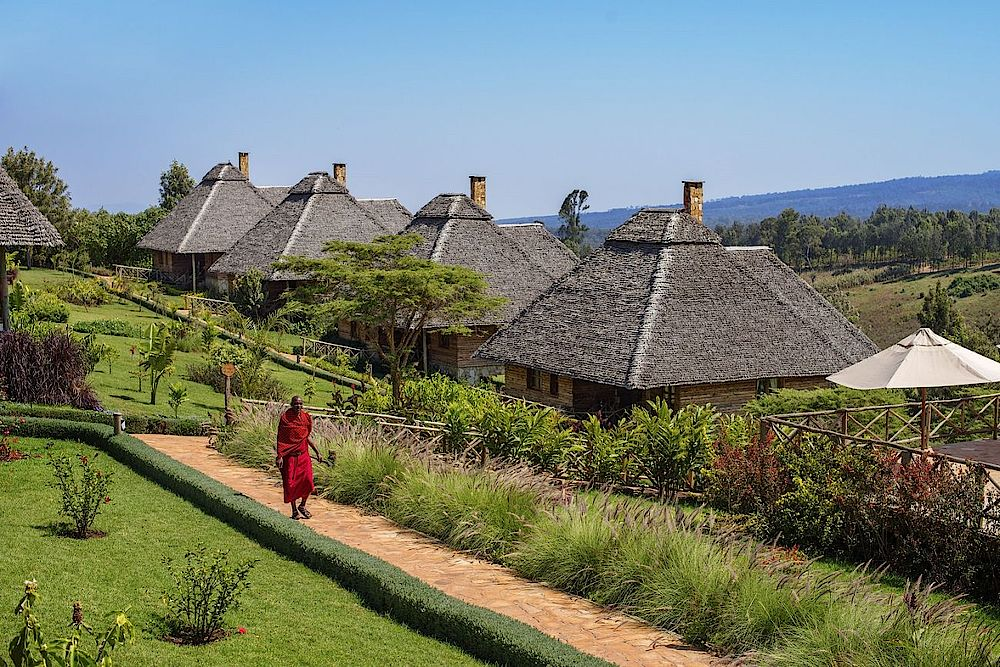 Tansania Safari, Bungalows, Neptune Ngorongoro Luxury Lodge, Tansania Rundreise