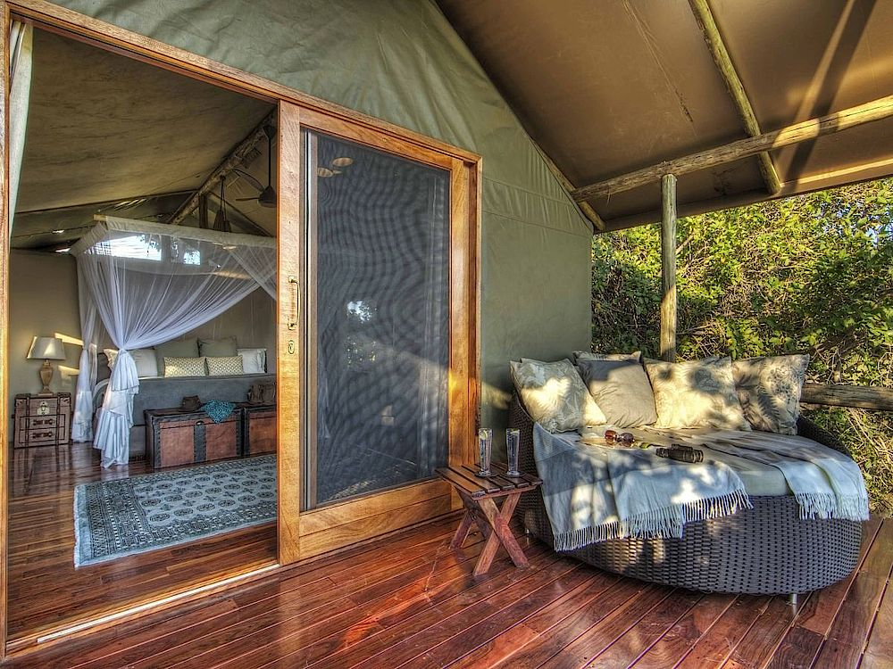 Luxuszelt Camp Shinde, Botswana Reise, Safari