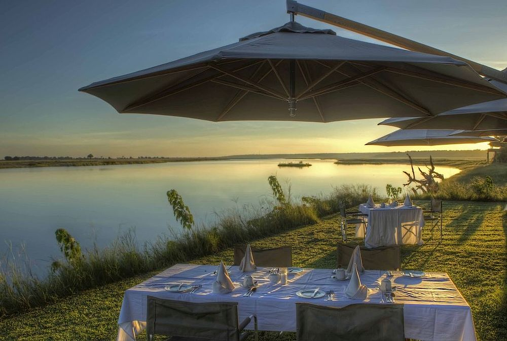 Chobe River, Chobe Game Lodge, Botswana