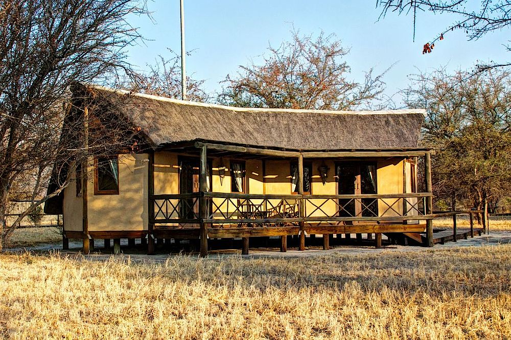 Chalet Deception Valley Lodge, Botswana Rundreise