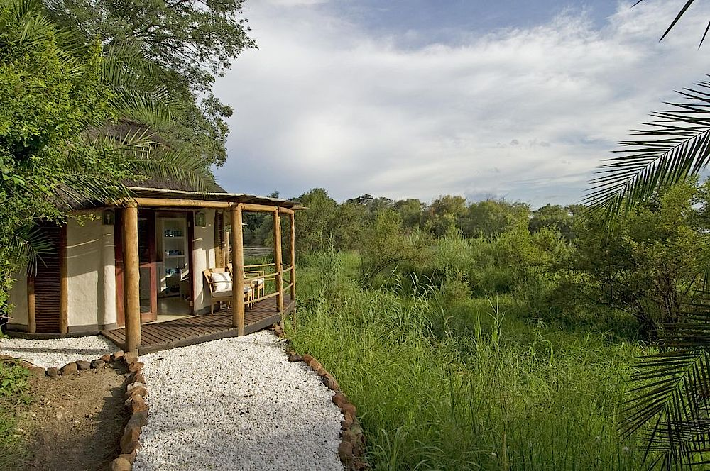 Tree House, Sanctuary Sussi and Chuma, Sambia Reise, Livingstone