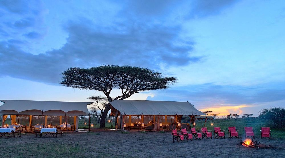Privatreise Tansania, andBeyond Serengeti Under Canvas Luxus Camp, Tansania